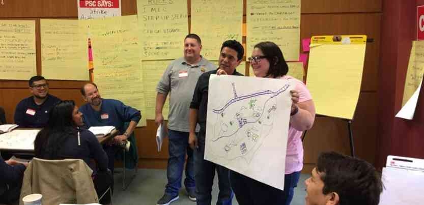 The Runaway Inequality program has reached hundreds of union members and community activists in a dozen states, helping fuel the growth of local coalitions. Photo: Sustainable Staten Island